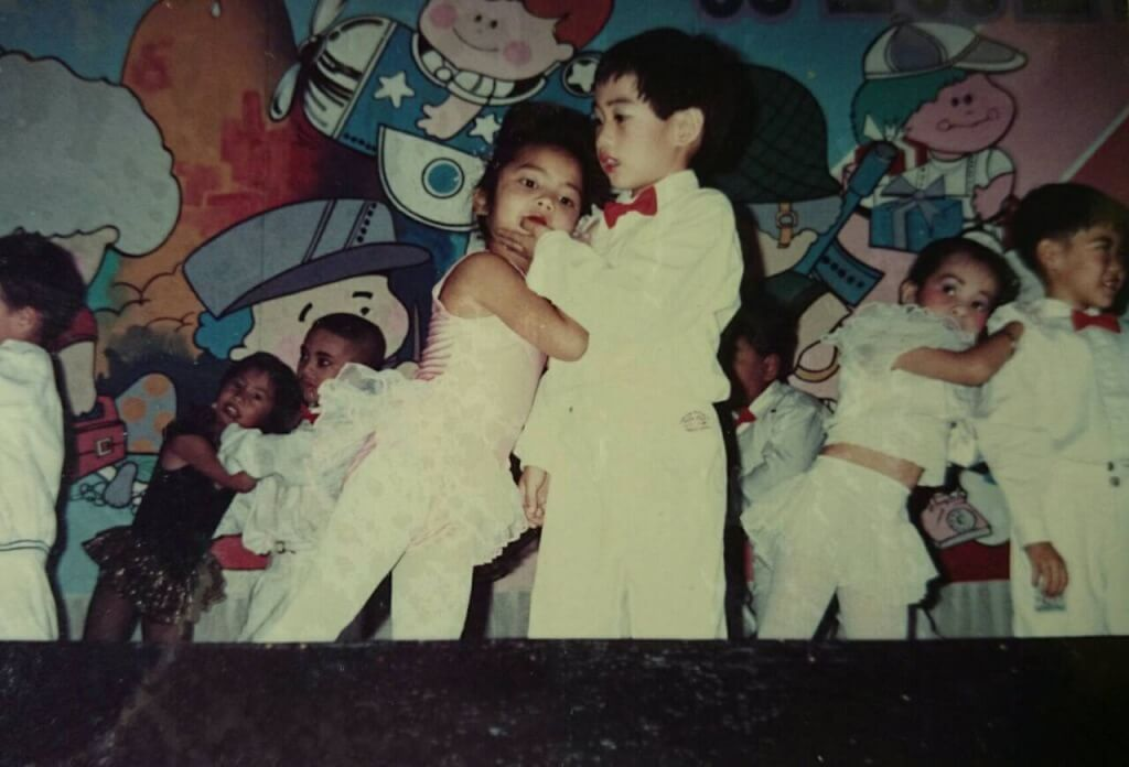A dancing performance when I was 6 years old.