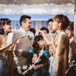 Thai Traditional Wedding Ceremony – symbolic doors