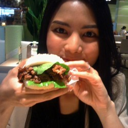 Sticky Rice Burgers
