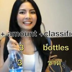 VIDEO: Classifiers is Essential to Speak Like a Thai