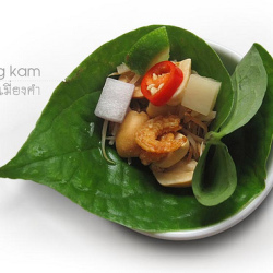 Leaf-wrapped Tidbits – Miang Kam