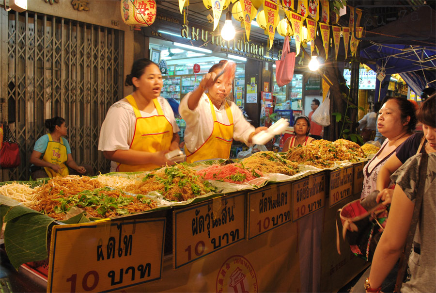 Vegetarian Street Food In Phuket